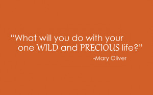 Mary Oliver Quotes