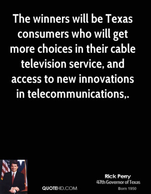 ... cable television service, and access to new innovations in