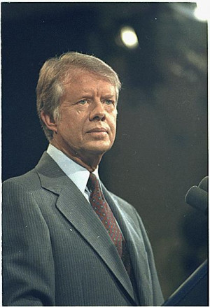Descripción Jimmy Carter at a press conference in 1978.jpg
