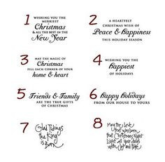 Funny Christmas Card Sayings For Family Card sentiments