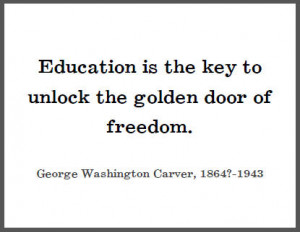 education is the key to unlock the golden door of freedom Inspirational motivational quote education is the key to unlock the golden door of freedom vector simple design black text over yellow background - buy this stock vector on shutterstock & find other images.