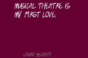 Musical Theater quote #1