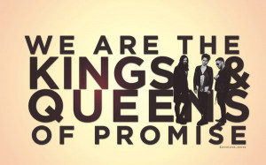 Kings and Queens quote WALLPAPER by lovelives4ever