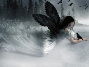 angels gothic angel desktop wallpaper download angels gothic angel ...