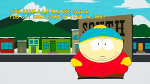 South Park Cartman Sand by psy5510