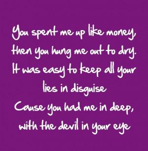 Song lyrics- Aerosmith