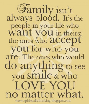 end family is family the love will always be there
