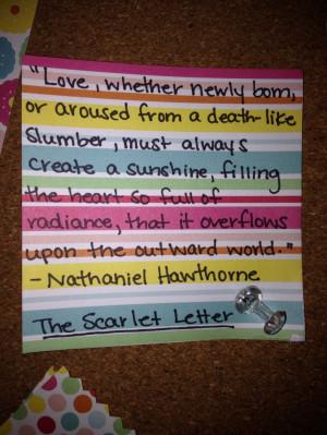 The Scarlet Letter By Nathaniel Hawthorne British Literature Essay