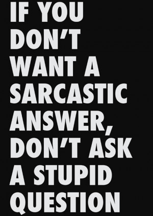 sarcastic quotes