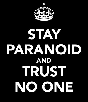 Trust nobody quotes wallpapers