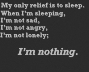 angry, depressing, lonely, sad, sleep, teen, text