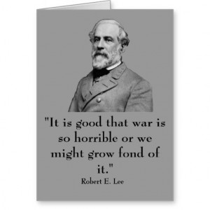 Robert E. Lee and quote Cards