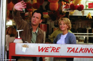 Another hit: Ephron also wrote and directed You've Got Mail - again ...