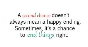 Second Chance Doesn't