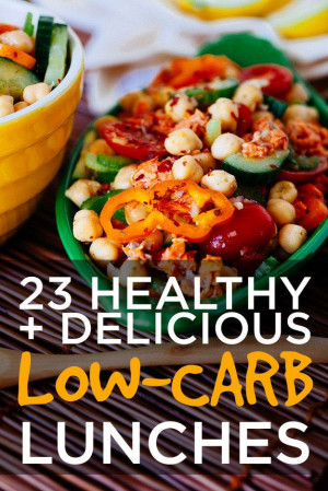 Carb Meals, Low Carb Lunches, Delicious Low Carb, 23 Healthy, Low Carb ...