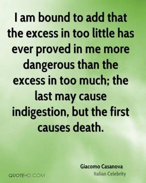 Giacomo Casanova Death Quotes