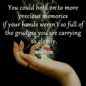 You could hold on to more precious memories if your hands weren't so ...
