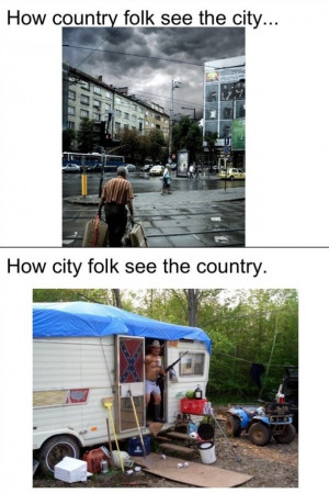 Funny Pictures 2014 City vs. Country