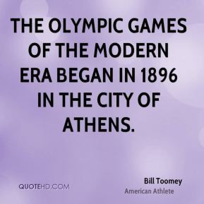bill toomey bill toomey the olympic games of the modern era began in