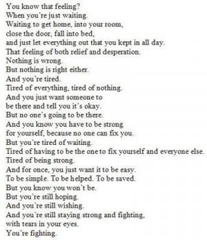 depression, quotes, sad