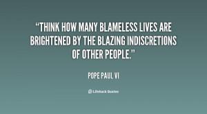 Pope Paul VI Quotes
