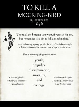To Kill a Mockingbird Prejudice Quotes