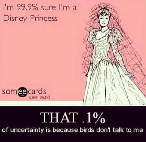 Being a Disney Princess is tough