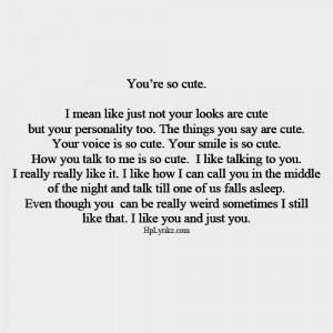 Cute Quotes About Boyfriends. QuotesGram