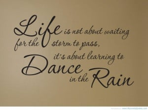 quotes about life happy nurse dance in the rain student nursing quotes ...