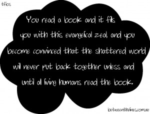 Until all living humans read this book....