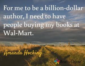 Amanda Hocking quote