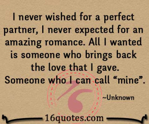 perfect partner quotes