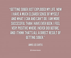 Sobriety Quotes For Women Curtis on getting sober
