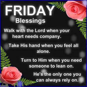 Friday Blessings | Inspirational Prayers | Pinterest
