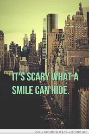 beautiful, cute, inspirational, love, pretty, quote, quotes, smile is ...