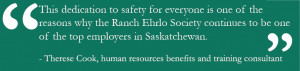 Ranch Ehrlo signs Saskatchewan Health & Safety Leadership Charter