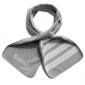 Baktuli White Stripes cotton anti-microbial workout towel in Active ...