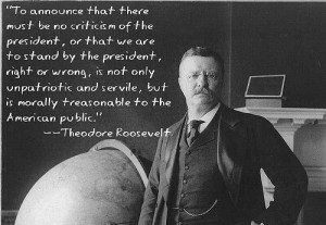 Theodore Roosevelt and World War One