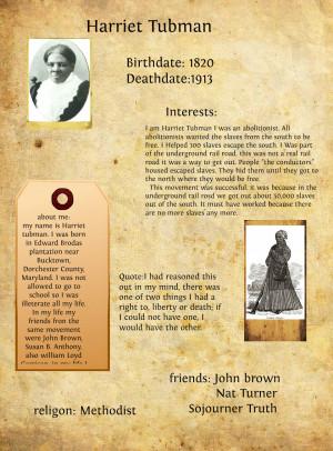 Harriet Tubman Quotes On Slavery Harriet tubman