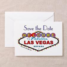 Las Vegas Save the Date Cards (Pk of 10) for