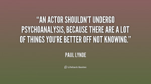 Paul Lynde quotes and sayings