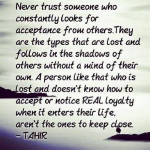 Never Trust Someone Who - #Quotes