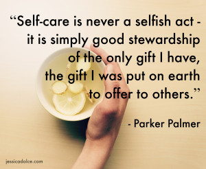 You Don't Need To Earn Self-Care By: