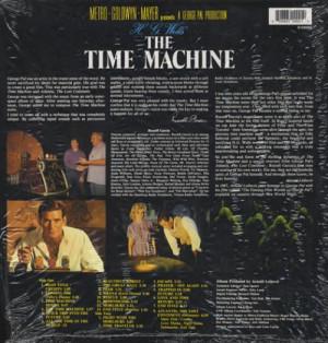 Original Soundtrack, The Time Machine, UK, Deleted, vinyl LP album (LP ...