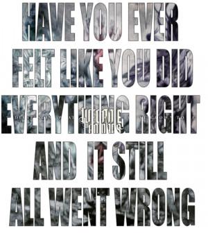we came as romans quotes lyrics