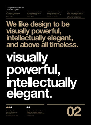 famous quotes from world renowned italian graphic designer massimo ...