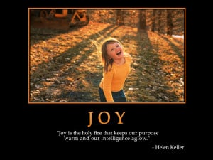 Motivational wallpaper on Joy : Joy is the holy fire that keeps Quote ...