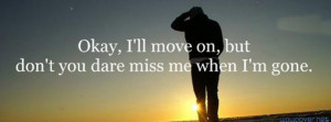 Ill Move On 583 Facebook Cover