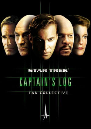 Star Trek - Captain's Log 'Fan Collective' DVD: Stardate & Front Cover ...