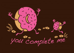 delicious, donut, food, funny, joyce, lol, text, typography